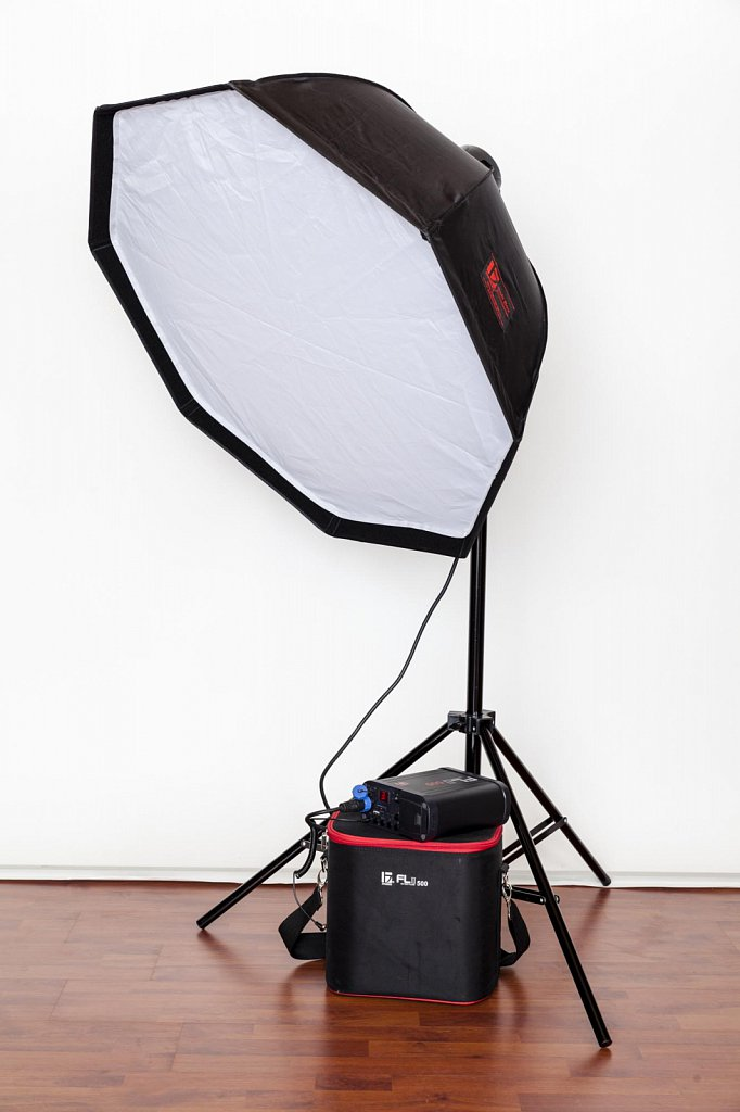 Softbox Octagon 90cm Set